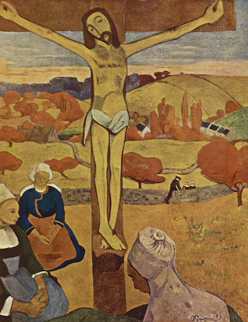 Paul Gauguin, The Yellow Christ, 1889. Image via  Wikimedia Commons .