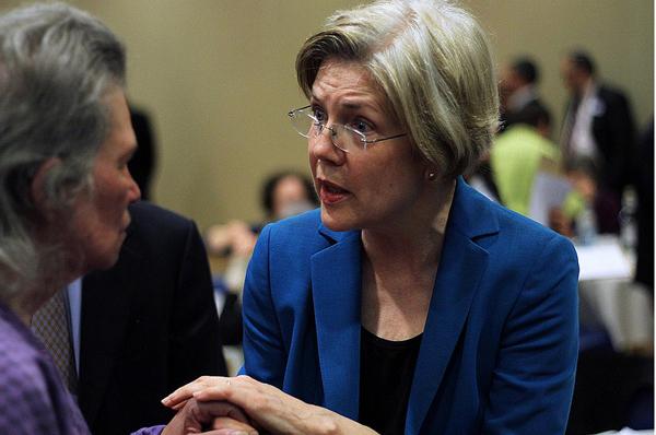 Senator Elizabeth Warren (D-MA) - Photo by Mystery Pill on Flickr
