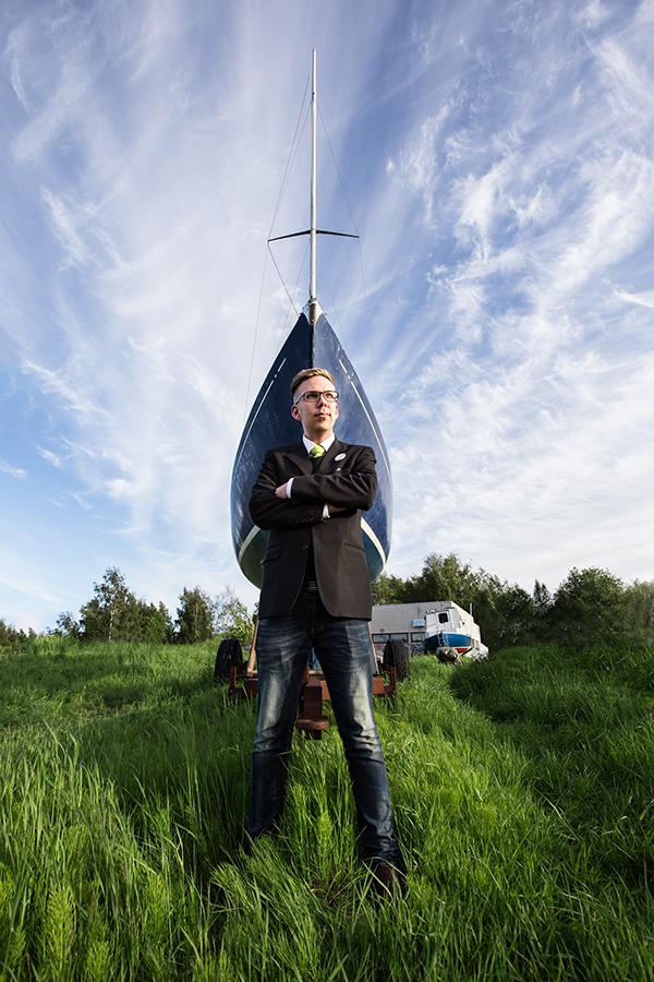 Janne Hakkarainen. Kuva/Photo: Sanna Krook.