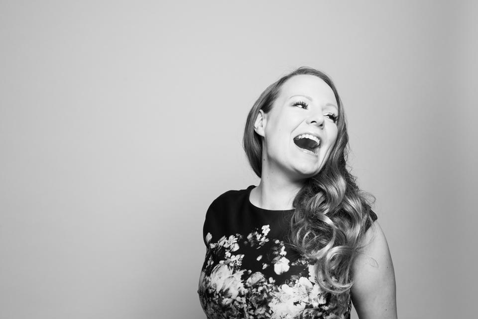 Laulaja, muusikko, musiikinopettaja Sanna Pirttisalo, 2016.