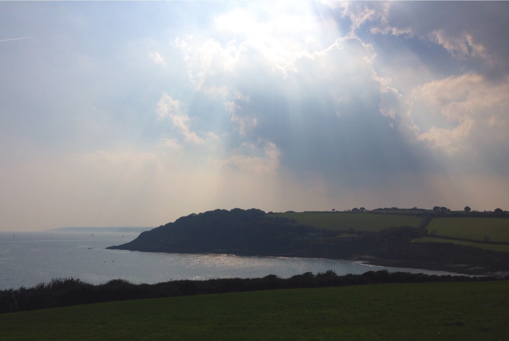 Falmouth - sun on the sea
