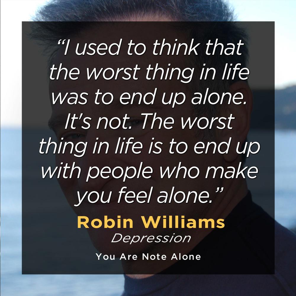 Robin Williams quote.