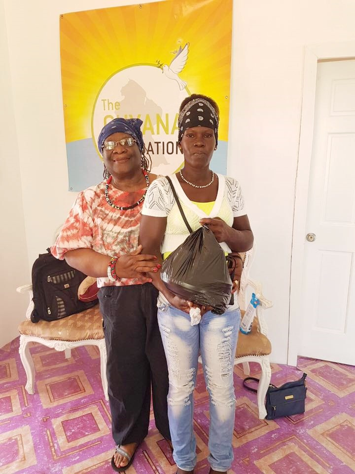 Monique with Ms. Francis Yvonne Jackson