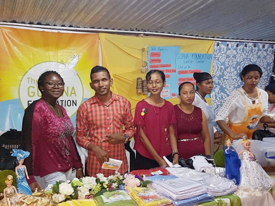 The Guyana Foundation represented its organsation with a booth at the Anna Regina Youth Fair and Pageant, September 2017