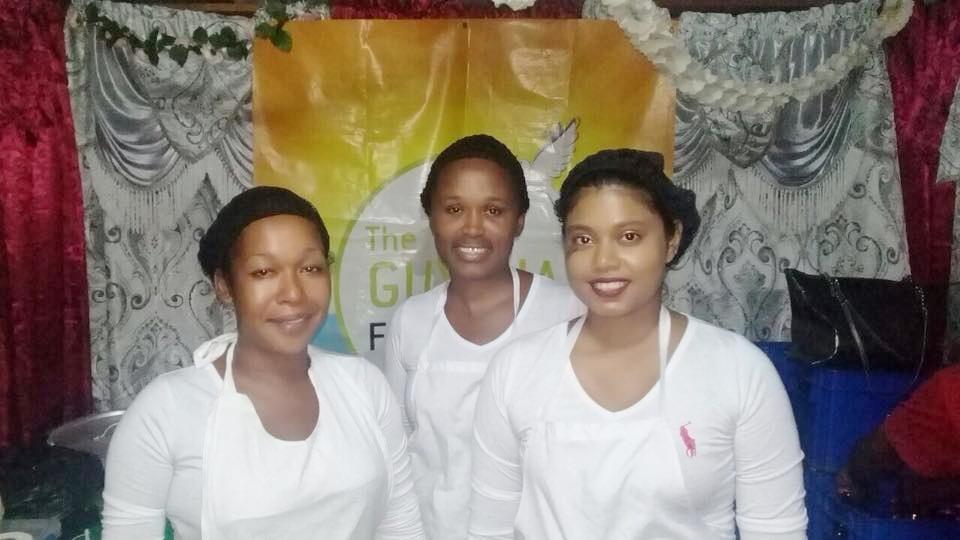 The Sunrise Girls of the Guyana Foundation.