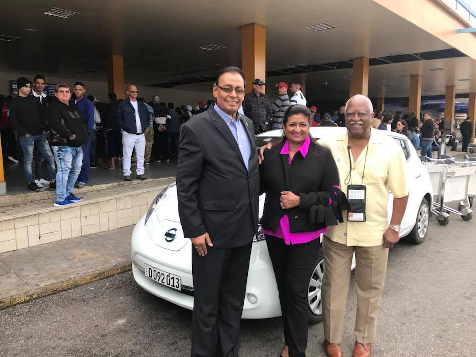 Guyana Foundation team arrived in Havana, Cuba for the start of Psicoavila 2018 Mental Health Conference.