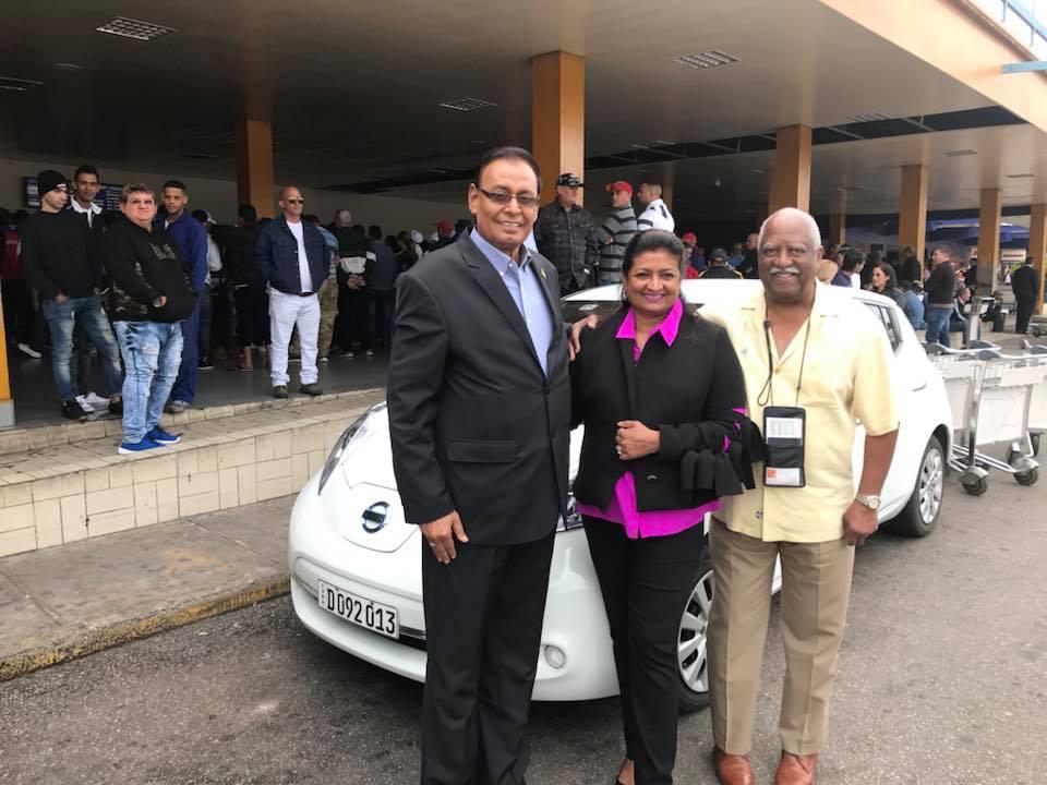 Guyana Foundation team arrived in Havana, Cuba for the start of Psicoavila 2018 Mental Health Conference.
