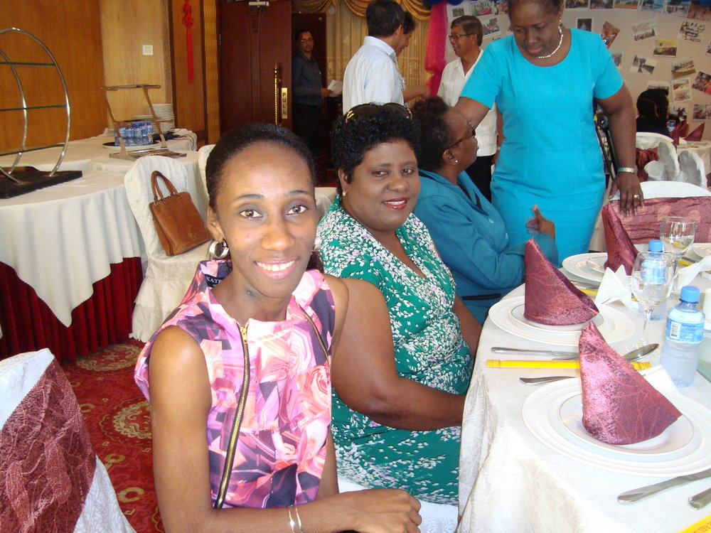 Press Conference/Luncheon:Volunteers of the Guyana Foundation, Ms. Shurla Smith & Ms. Elocia Smith