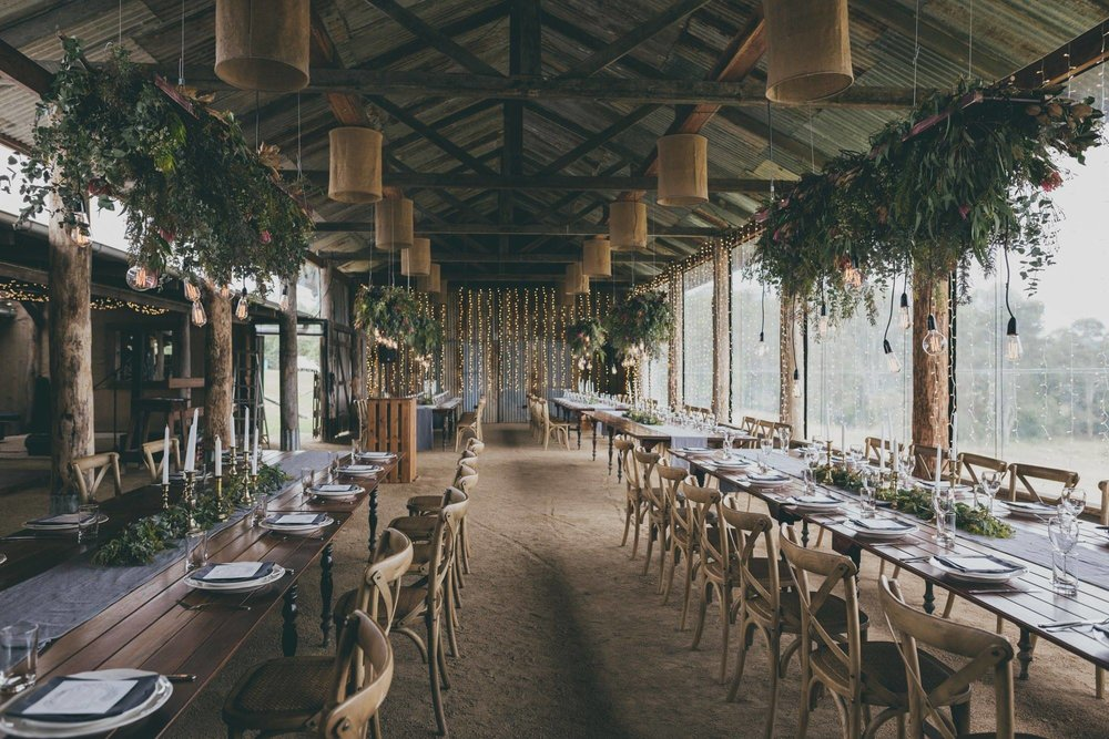 Country weddings have all of a sudden been stepped up a notch! Carly and Ryan's Yandina Station wedding had it all… The before and after is astounding! If you are reading this, touch base with us and we'll show you :) Photo via Artography.