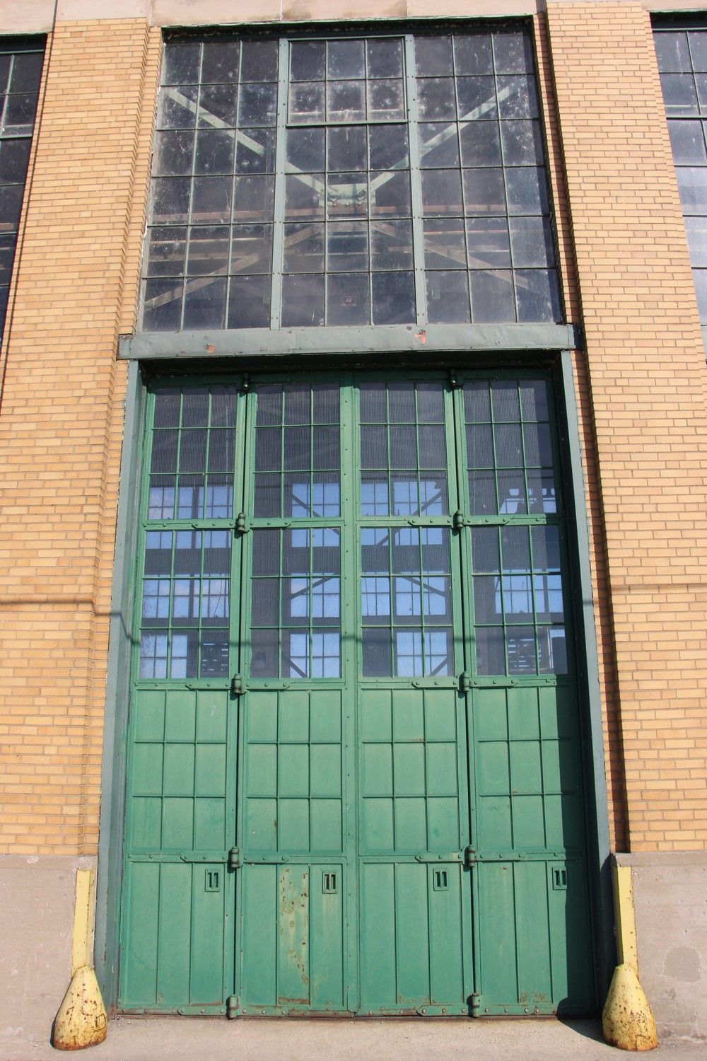 Beautiful Front door of Ford Hydro plant