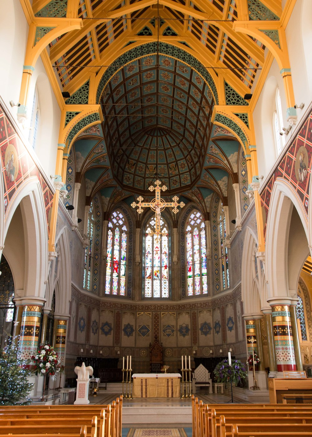 Inside of St. Peter's Cathedral