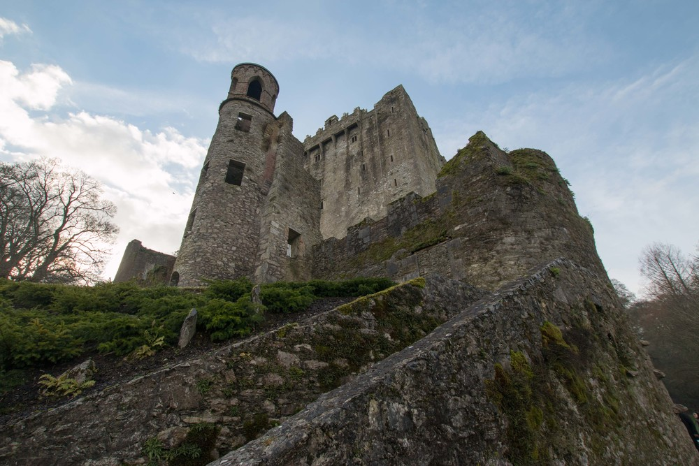 Front view of Blarney Castle