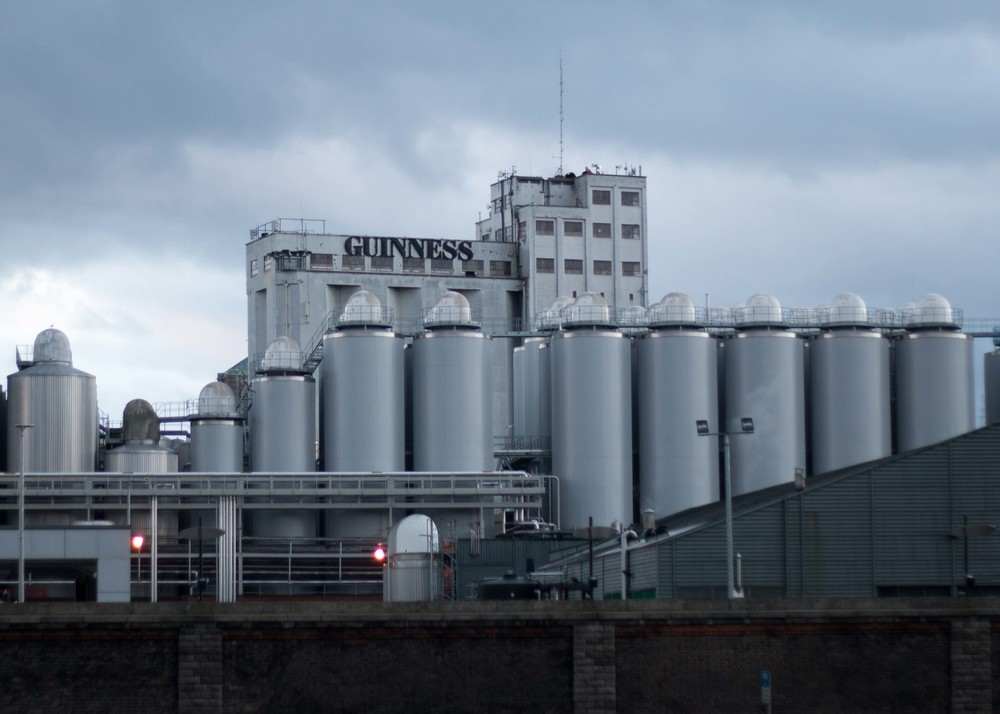 Part of the modern day Guinness brewery.  Unfortunately, this wasn't included in the Guinness Expereience