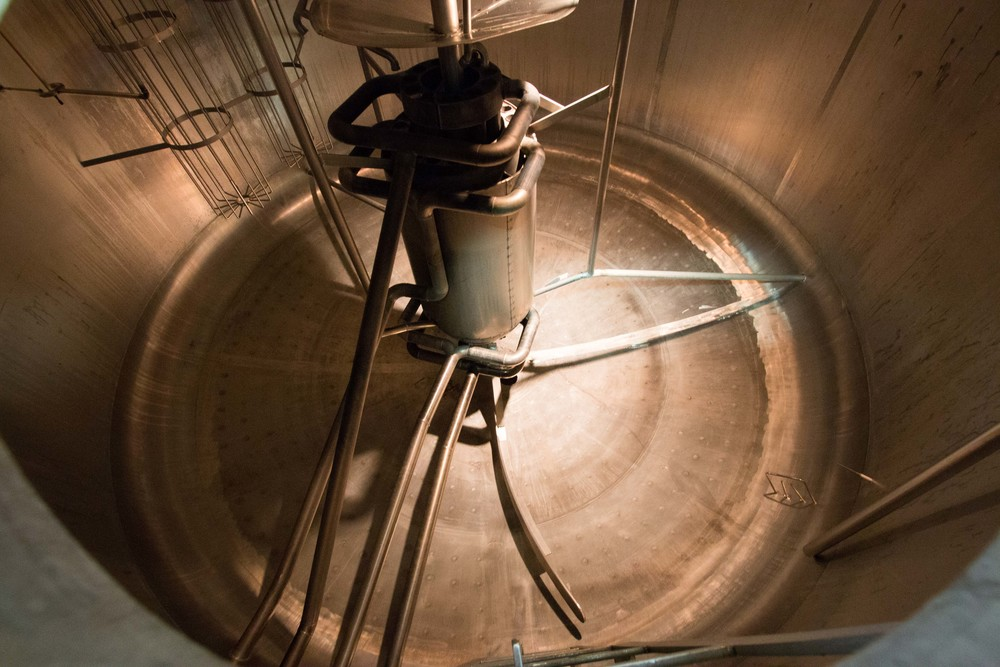Mash Tun/ Boil Vessel at Welde Brewery