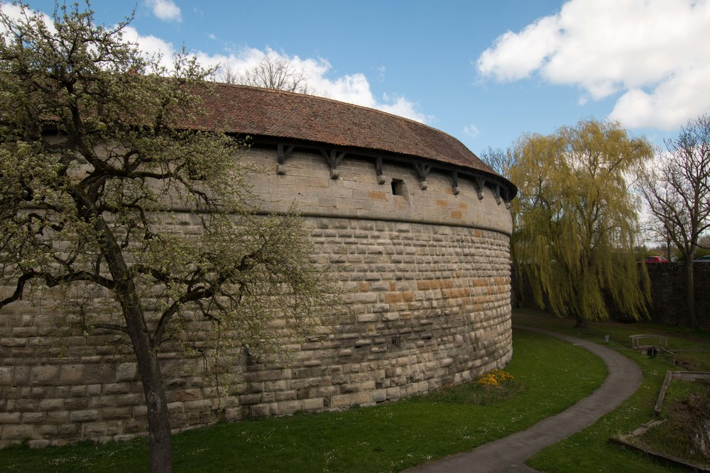 A portion of the old fortress