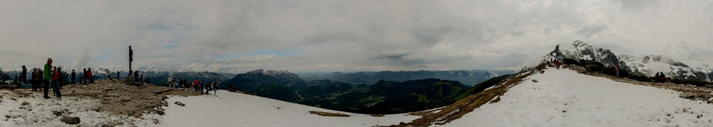 panoramic from on top of the mountain. Absolutely beautiful!