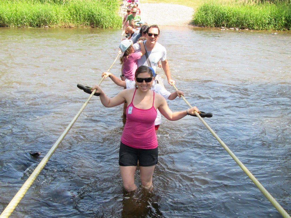 We forded the river! And manged to not lose any oxen