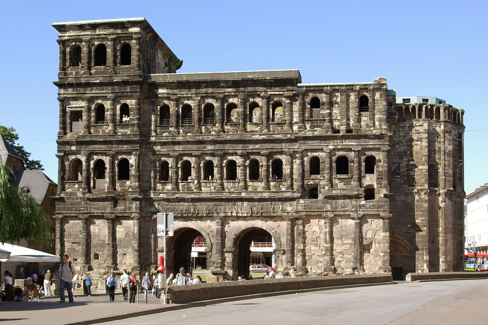 City Side of the Porta Nigra. Source