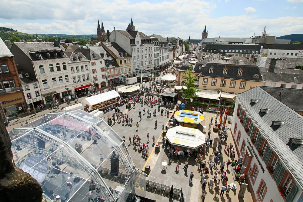 Picture of the city looking down from the Porta Nigra
