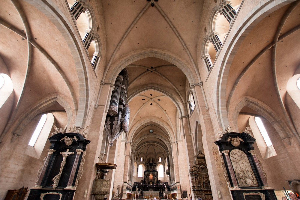 Inside of the Cathedral of Trier