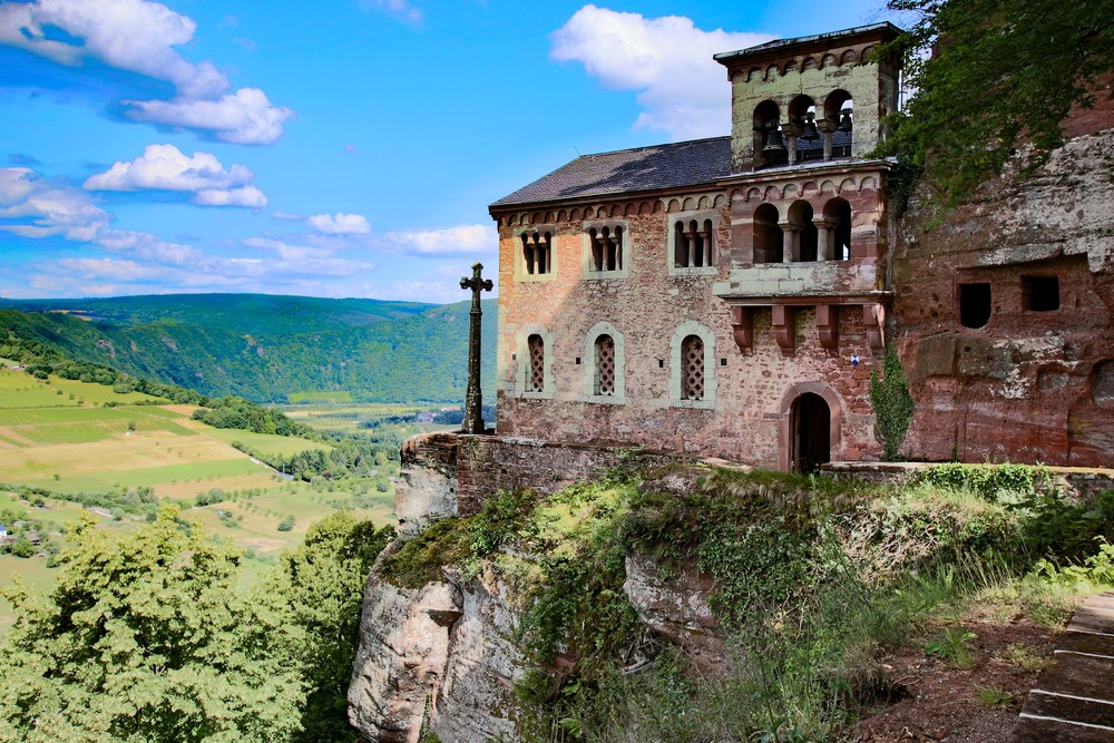 Hermit's cell overlooking the Saar river valley