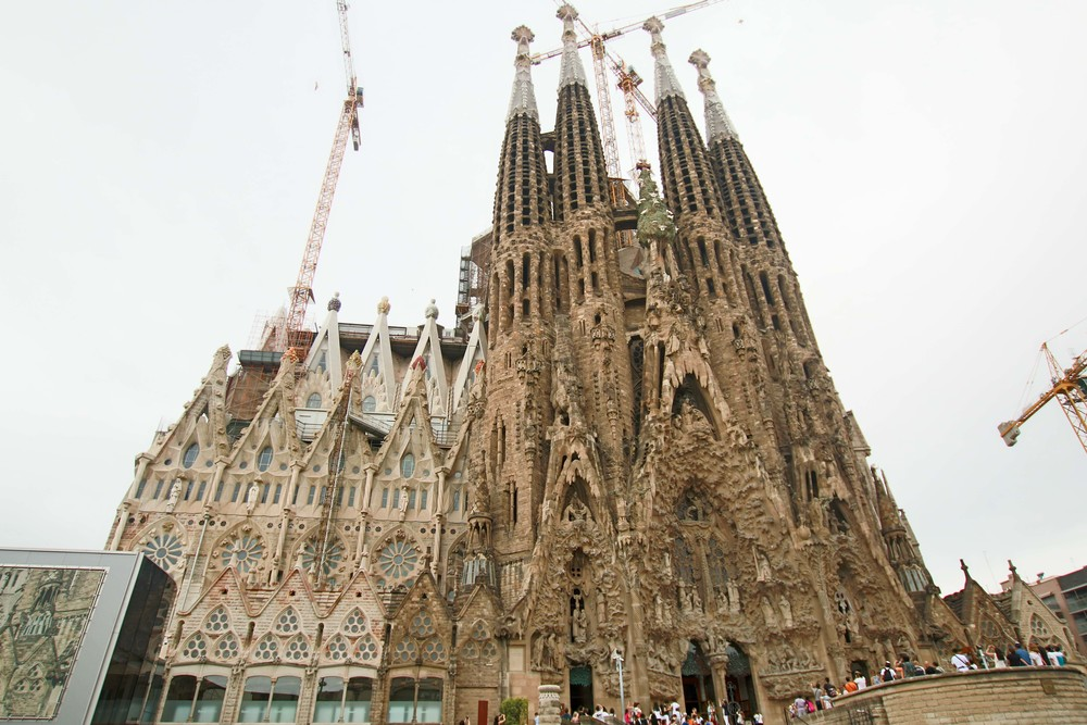 NATIVITY facade of Sagrada Familia