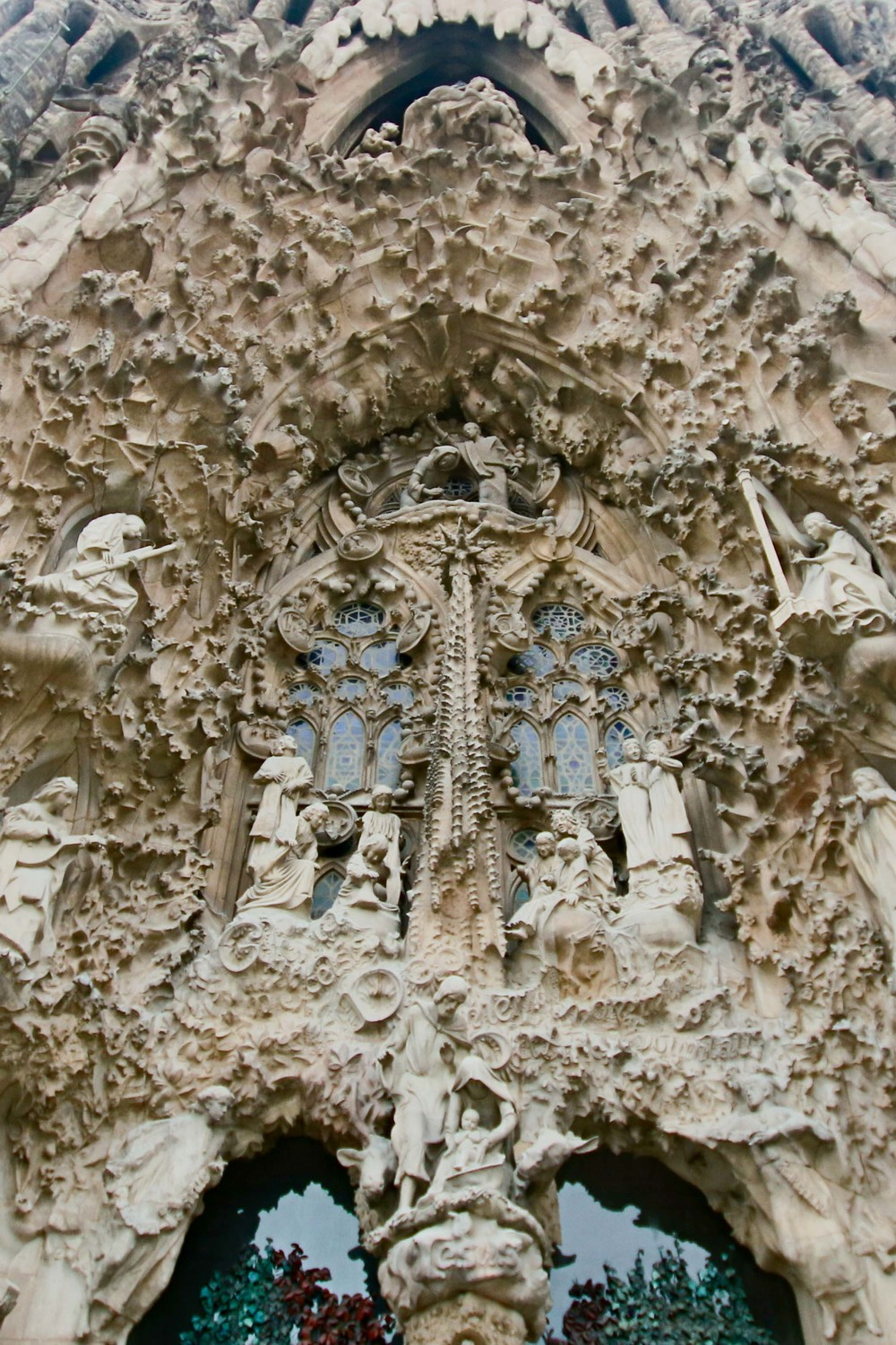 Main portico on the NATIVITY side