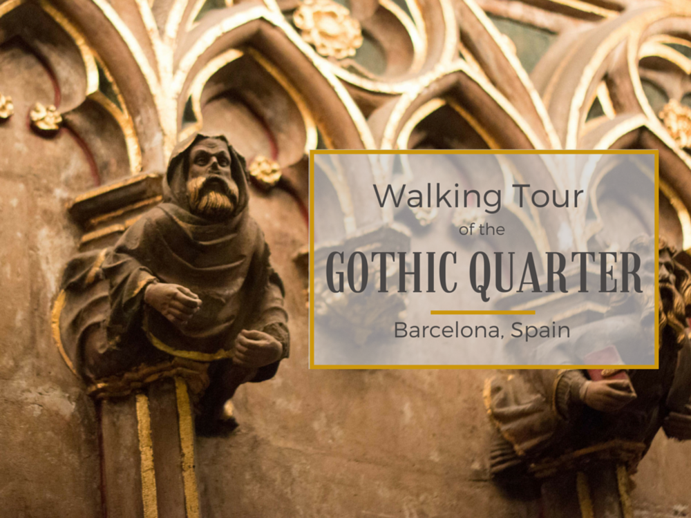 Walking Tour of the Gothic Quarter, Barcelona � Submerged Oaks