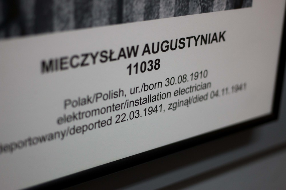 Information on a polish prisoner sent to Auschwitz. He was an electrician and survived nearly 8 months, much longer than many others.