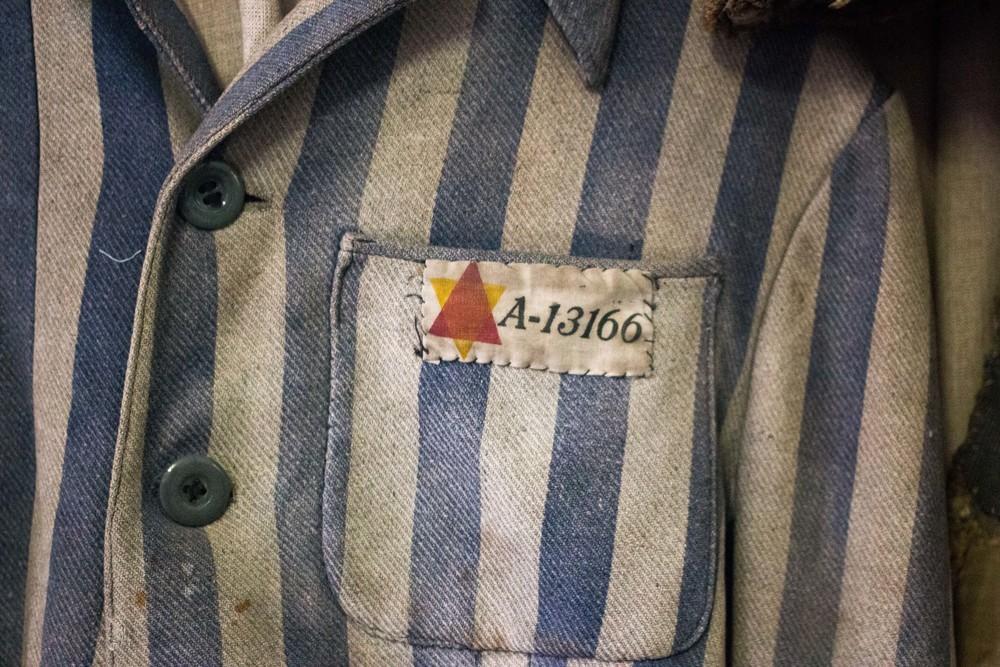 Prisoner Uniform from Auschwitz
