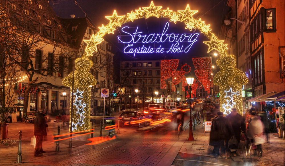Strasbourg claims to be the capital of Christmas. Image Source