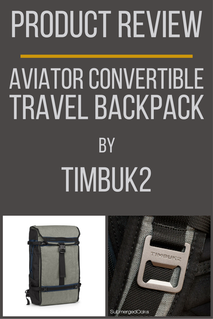 13cbaccc50 Timbuk2 2015 Aviator Convertible Backpack Review