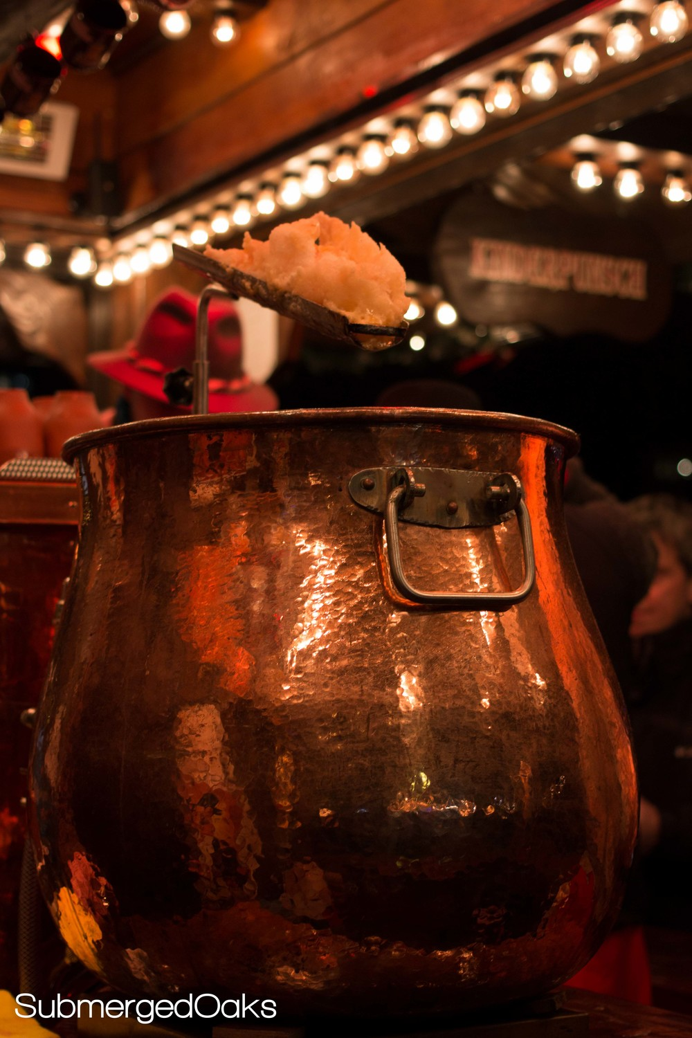 Copper kettle with Feuerzangenbowle