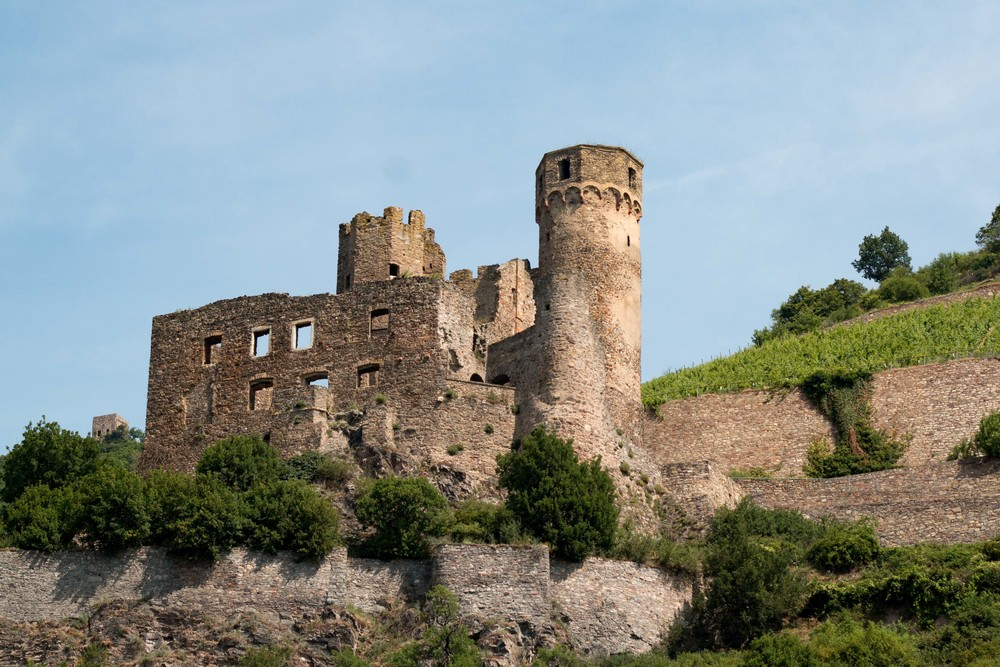 Castle Ruins along the Rhein River