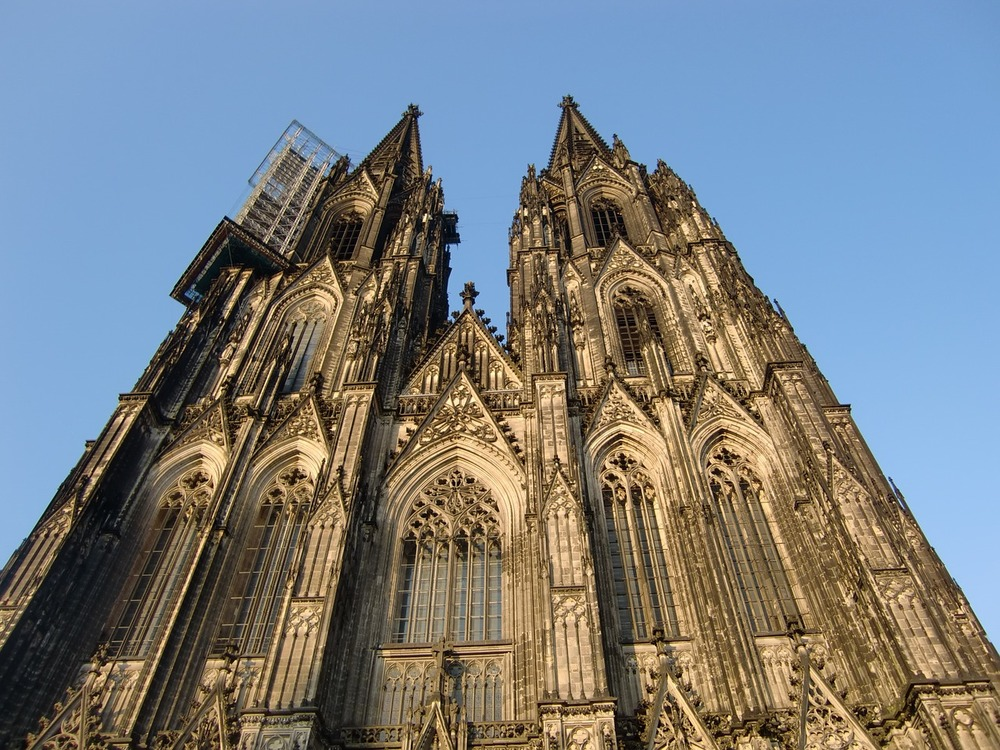 The ABSOLUTELY stunning Cathedral in Cologne - make sure you climb the tower!