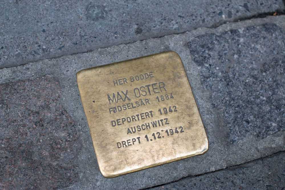 Oslo. Max was deported, and murdered, in 1942 in Auschwitz.