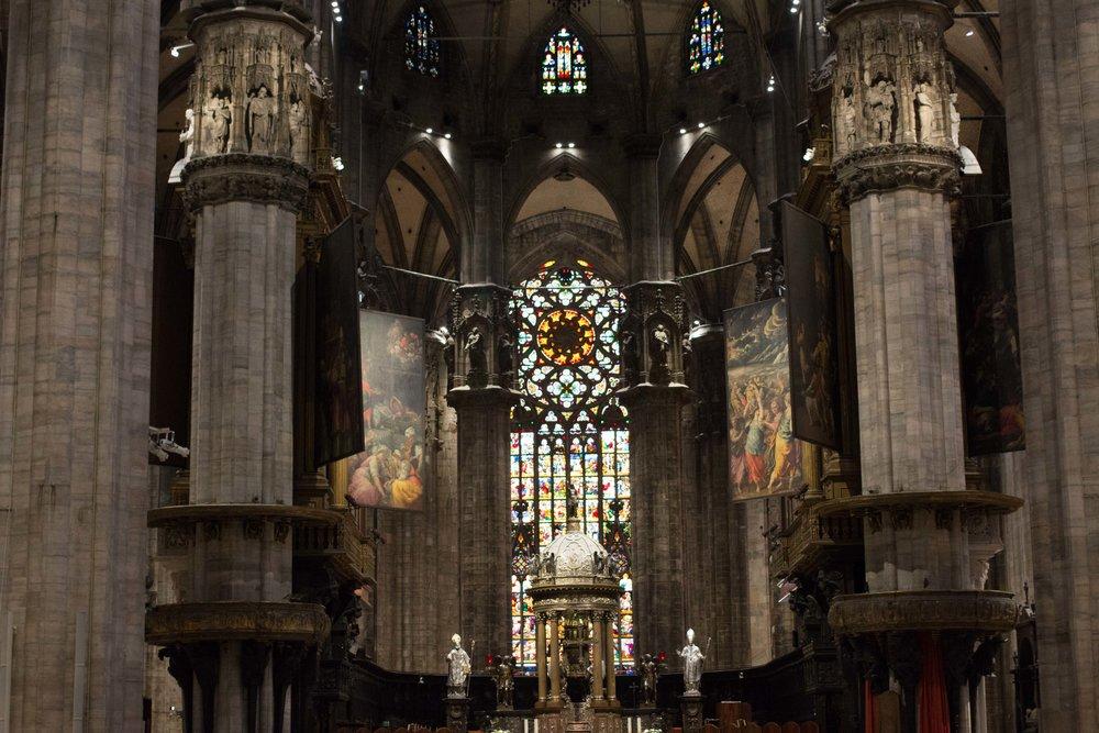 milan cathedral submerged oaks