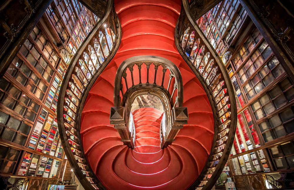 Lello Bookstore in Porto ::  Source