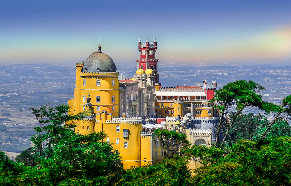 Pena Palace Sintra, Portugal :: Source