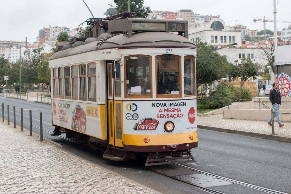 Line 28 Tram; Lisbon