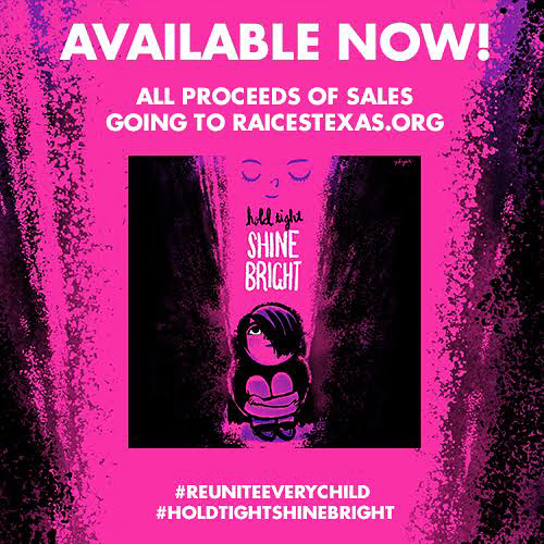 "Immigrant children torn apart from their families at the border still need our help!! Our hearts ache over what's STILL happening - which is why we are honored that our song ""We All Shine"" is part of #HoldTightShineBright, a project started by fellow family musicians @luckydiazfam , @andrewandpolly and @mistacookiejar.  The album is available for pre-sale, NOW and will be released this ‪Friday, August 31‬ on @itunes, and features songs from more than 20 kindie musicians and bands.  All proceeds benefit @raicestexas , an organization that supports legal services for families separated at the border.  We hope you'll join us in supporting this cause!  Every little bit helps and together we can make a difference.  Please share and enjoy this beautiful, uplifting and excellent music! #holdtightshinebright #raices#familiesbelongtogether #ReuniteEveryChild #weallshine  Link in bio!"