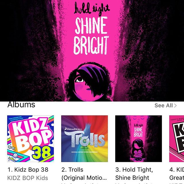 🌟You guys! 🌟 #holdtightshinebright is creeping up the @itunes chart and is currently at #3!  Let's keep it up!  #togetherwecanmakeadifference!  #raices#familiesbelongtogether #ReuniteEveryChild  Do something good today, link in bio!