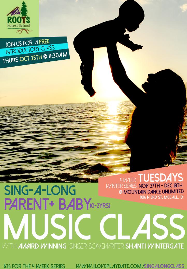 Sing A Long Class Poster