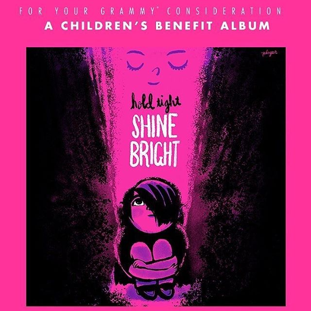 We are so very proud to be part of this beautiful and important project.  Hold Tight, Shine Bright, a children's benefit album, is on the ballot for the Grammys. 🏆  The only reason this is important is the more notice this project gets- the more funds can be raised for separated families and reunification efforts. Our goal is to spread the word as much as possible. 100% funds raised go to RAICES.❤️ Also, it is a stunning piece of work. Powerful, raw and full.  With over 35 artists, 27 songs, and countless volunteers, this album is hope abundant. Please pass this along to anyone possible. Love from our families to yours. Thank you. 👨‍👩‍👧‍👦 Listen and donate directly (link in bio): https://holdtightshinebright.bandcamp.com/album/hold-tight-shine-bright