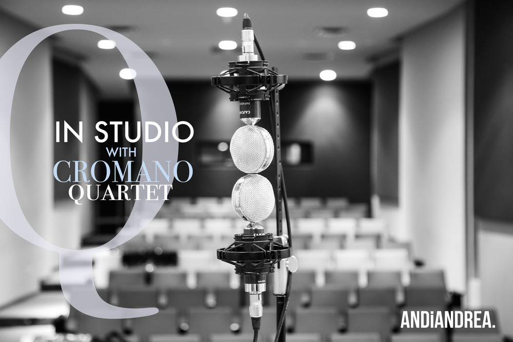 In Studio with Cromano Quartet-AndiAndrea