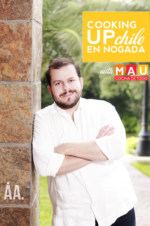 Chile en Nogada with Mau Cocina de Todo   AndiAndrea