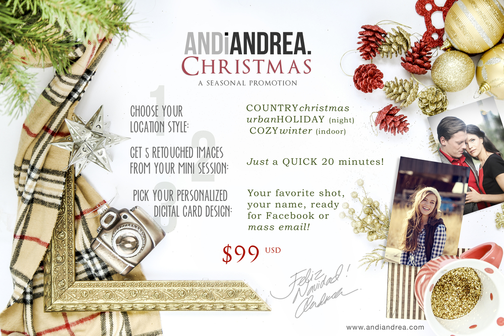 AndiAndrea Christmas Promo