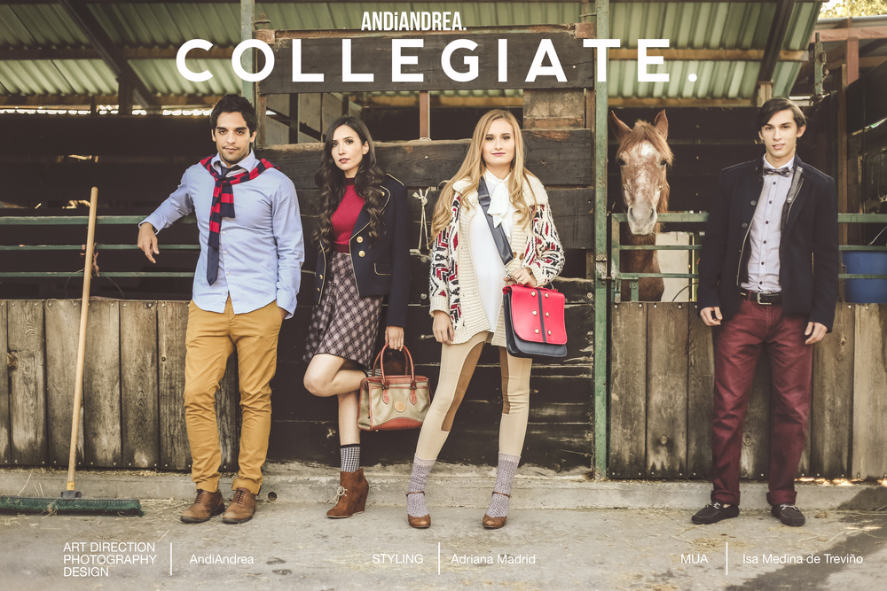 """COLLEGIATE"" Editorial by AndiAndrea"