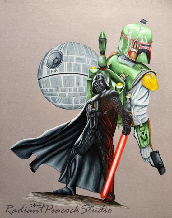 Vader and Boba