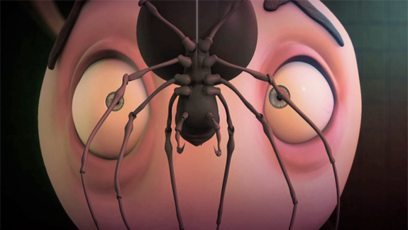 Project: Figaro Pho. Responsible for: Character animation. Modeling of the spider character.